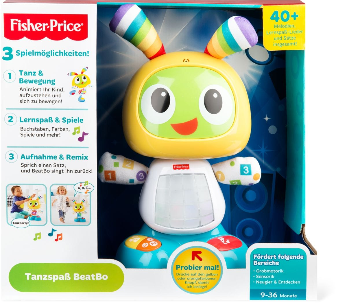 Fisher-Price Tanzspass BeatBo (D)