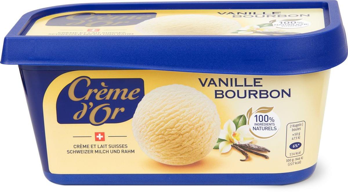 Crème d'or Vanille Bourbon