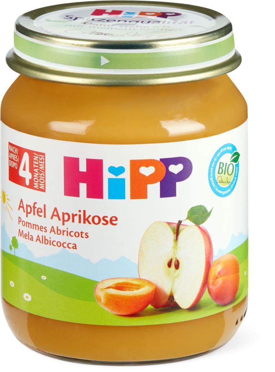 Bio HiPP Pomme et abricot