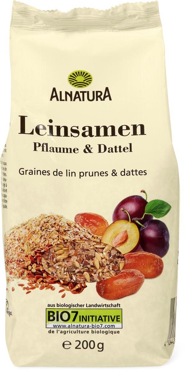 Alnatura Leinsamen Pflaume & Dattel