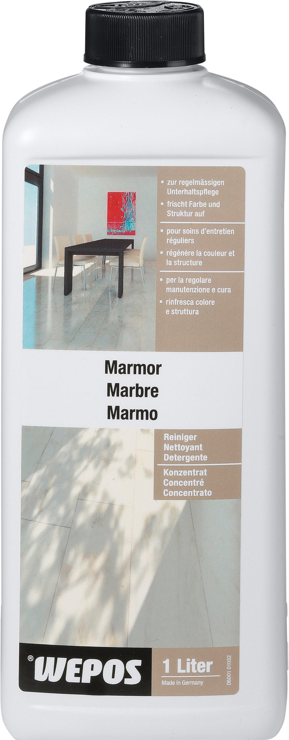 wepos marmor reiniger konzentrat migros. Black Bedroom Furniture Sets. Home Design Ideas