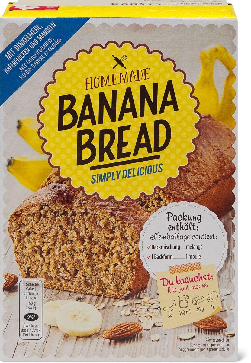 Homemade Bananabread