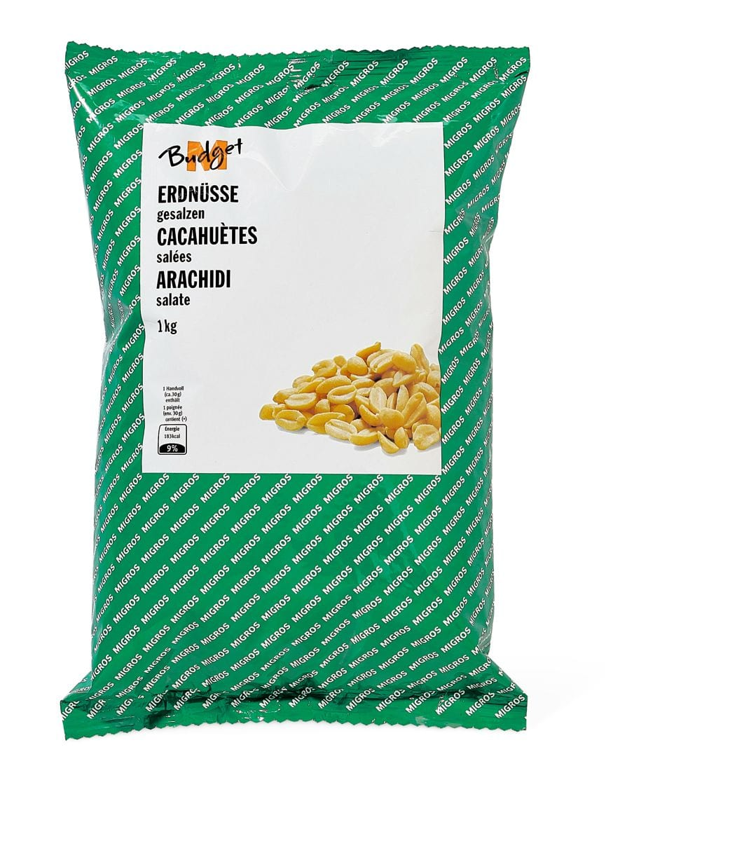M-Budget Arachidi salate