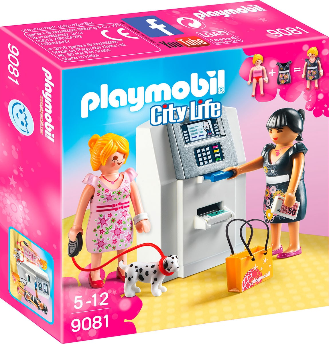 Playmobil City Life Distributeur automatique 9081