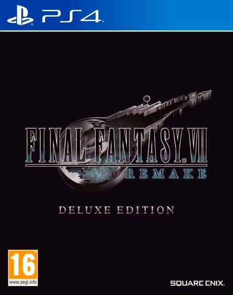 PS4 - Final Fantasy VII : HD Remake Deluxe Edition Box