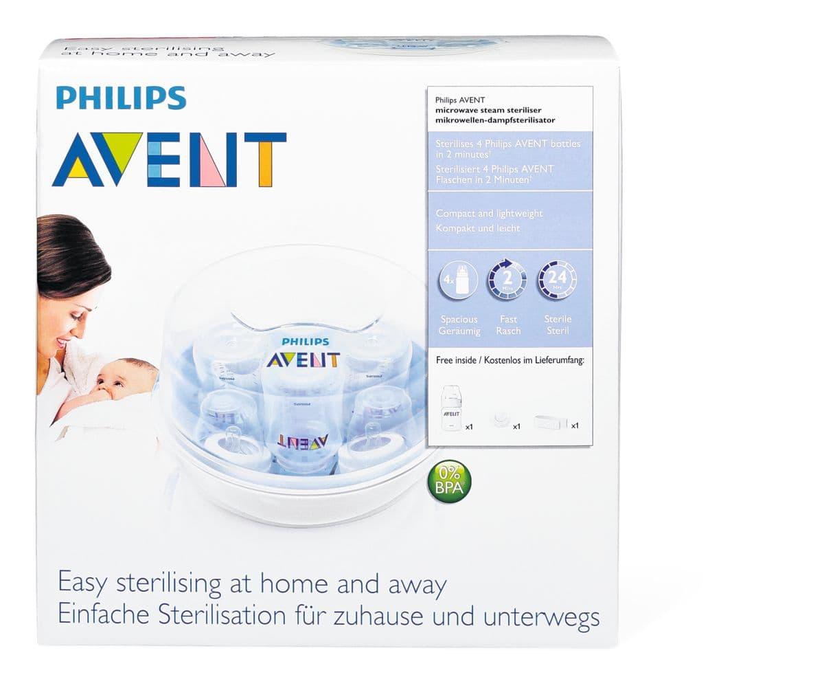 Avent Mikrowellen Sterilisator Anleitung
