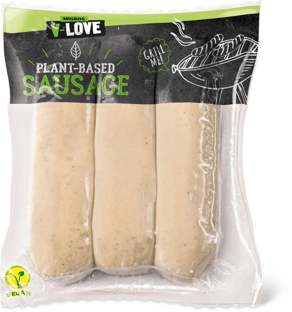 V-Love Plant-Based Bratwurst