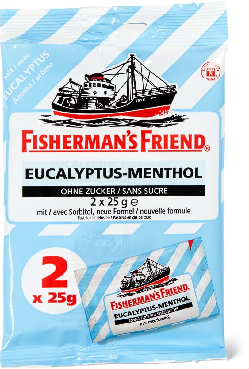 Fisherman's Friend Eucalyptus-Menthol