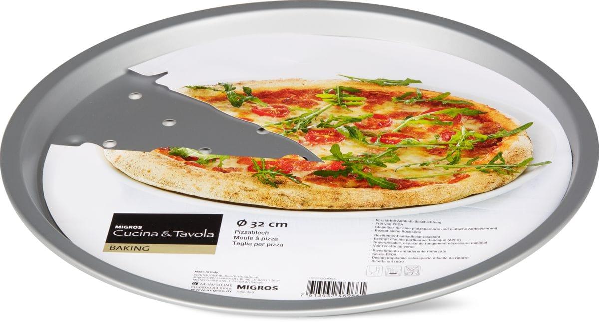 Cucina & Tavola Plaque à pizza 32 cm