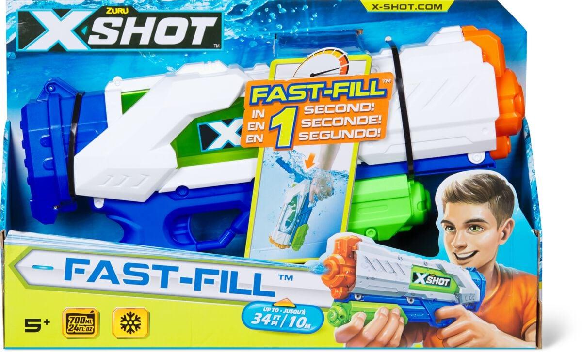 X-Shot Fast-Fill Armi giocattolo