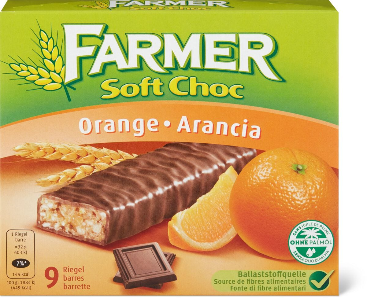 Farmer Soft Choc Orange