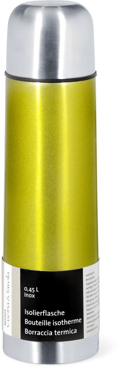 C&T Isolierflasche Edelstahl, 0.45l Grün