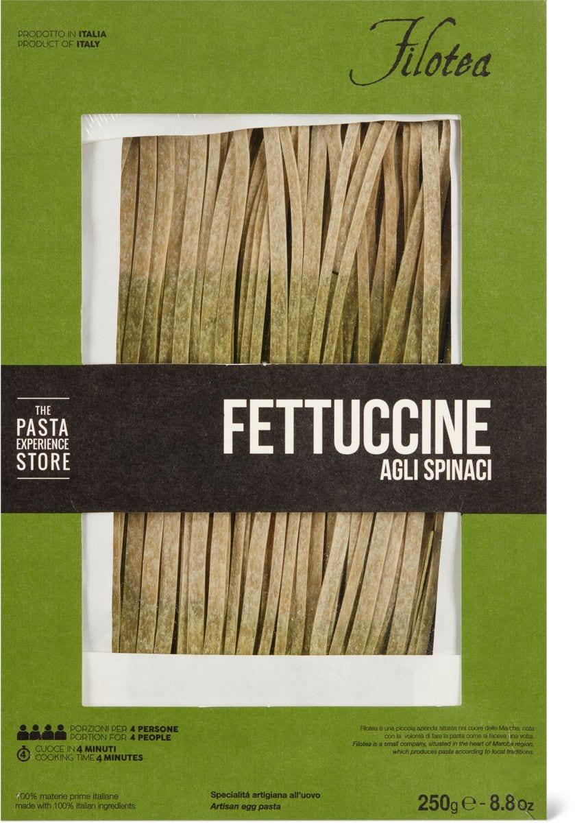 Filotea fettucie agli spinaci