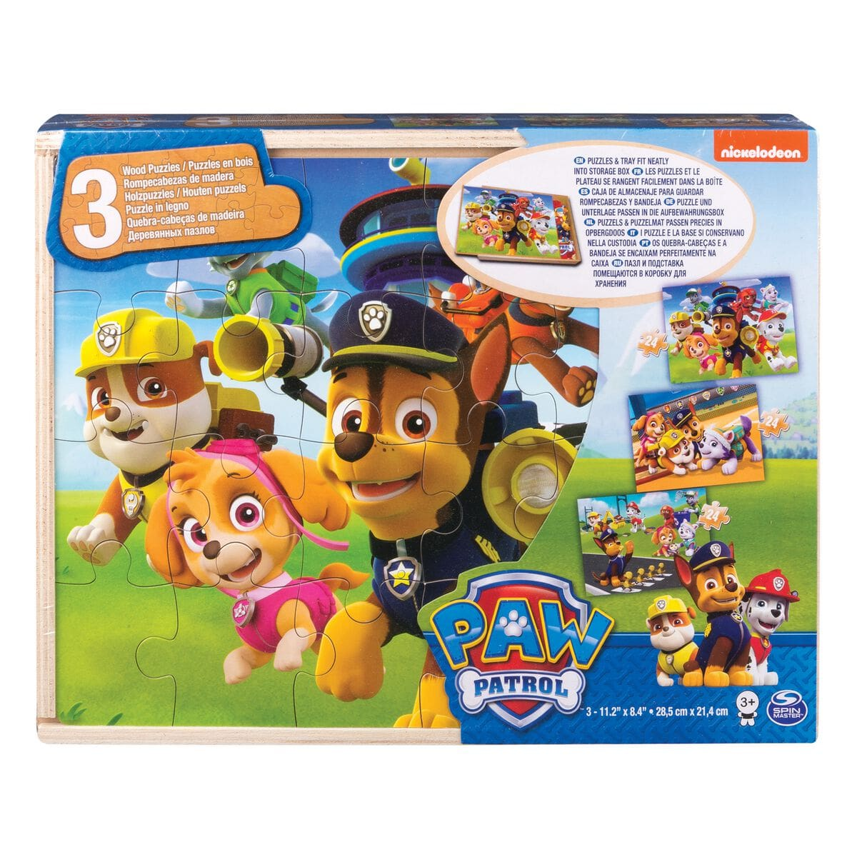 Spin Master Paw Patrol Holz Puzzle Puzzle
