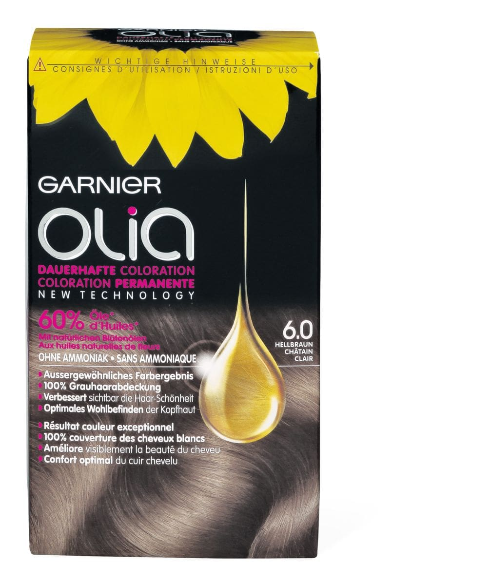 Garnier Olia 6.0 brun clair