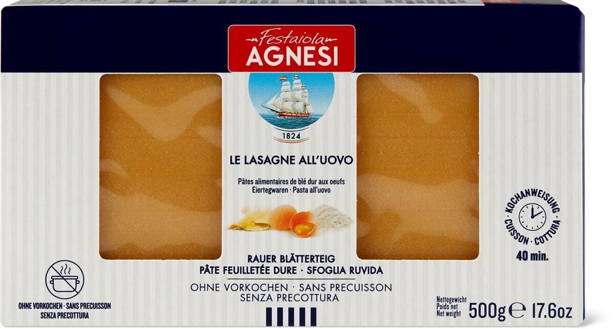 Agnesi Lasagne all'uovo