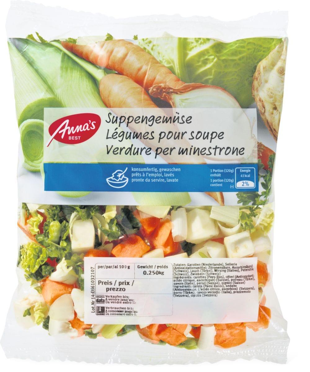 Anna's Best Légumes pour soupe