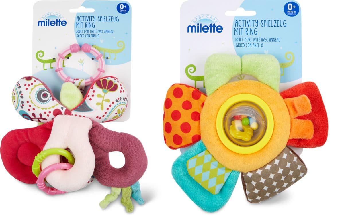 Milette activity spielzeug mit ring migros
