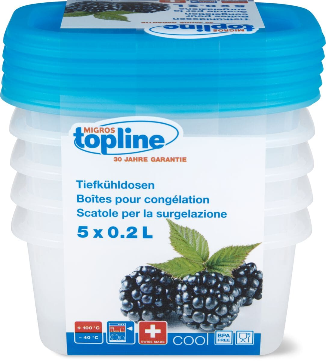 M-Topline COOL Boîte de congélation 0.2L