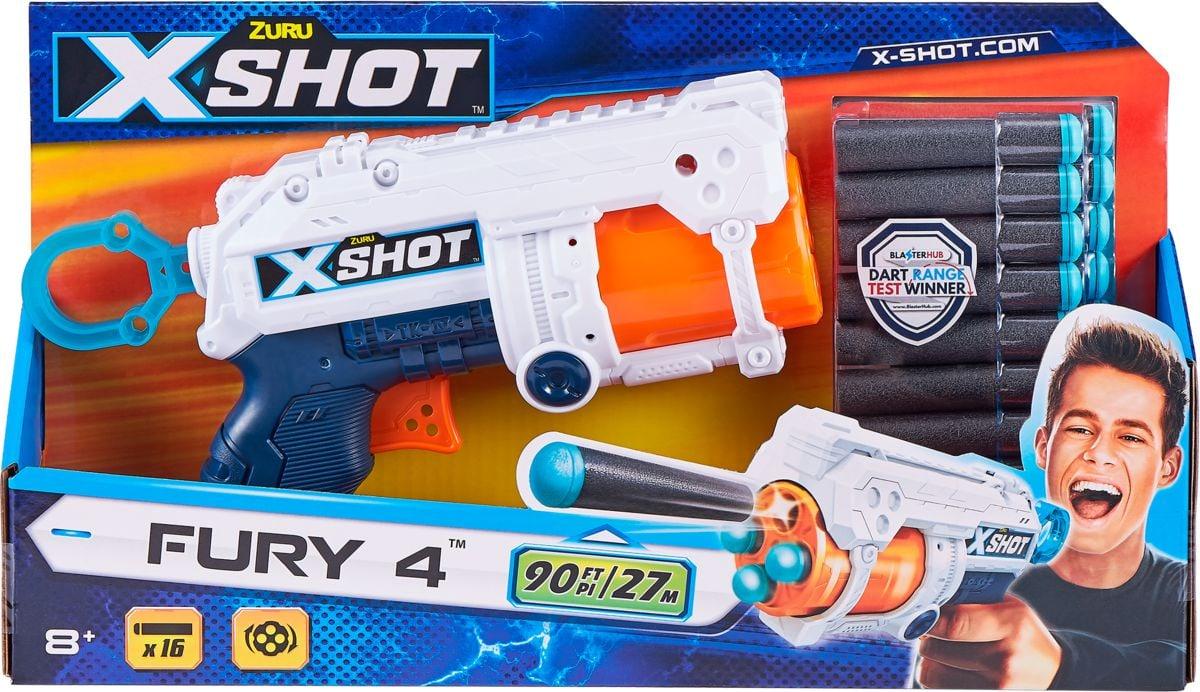 X-Shot Fury 4 Blaster