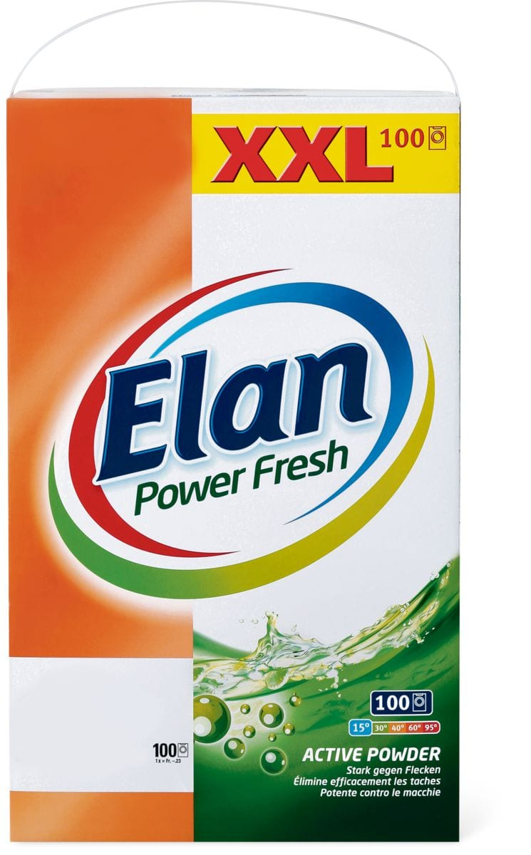 Elan Waschmittel in Sonderpackung