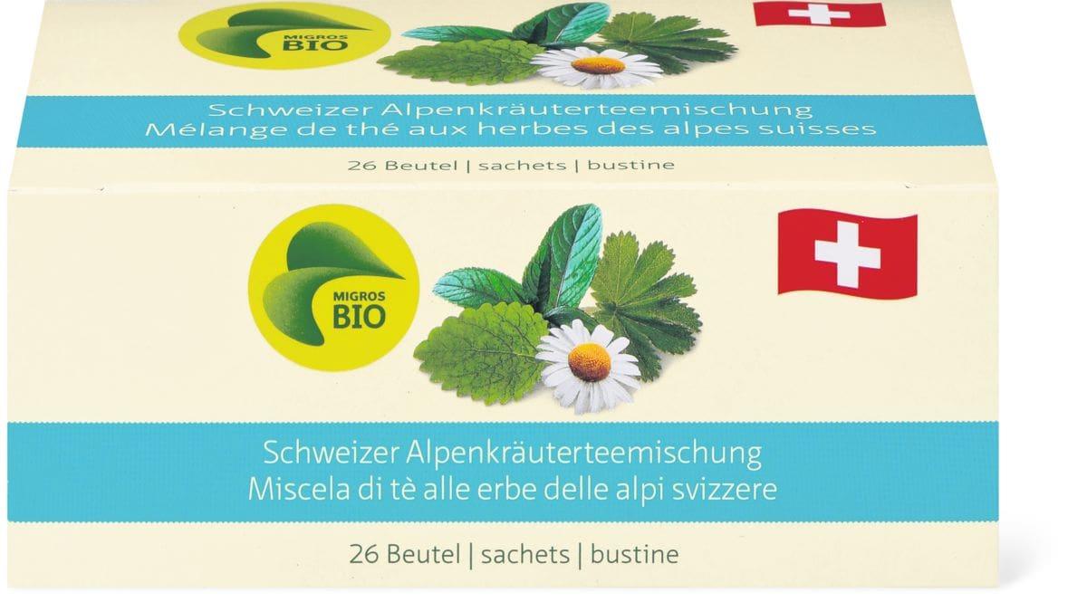 Bio Mélange de thé aux herbes des alpes