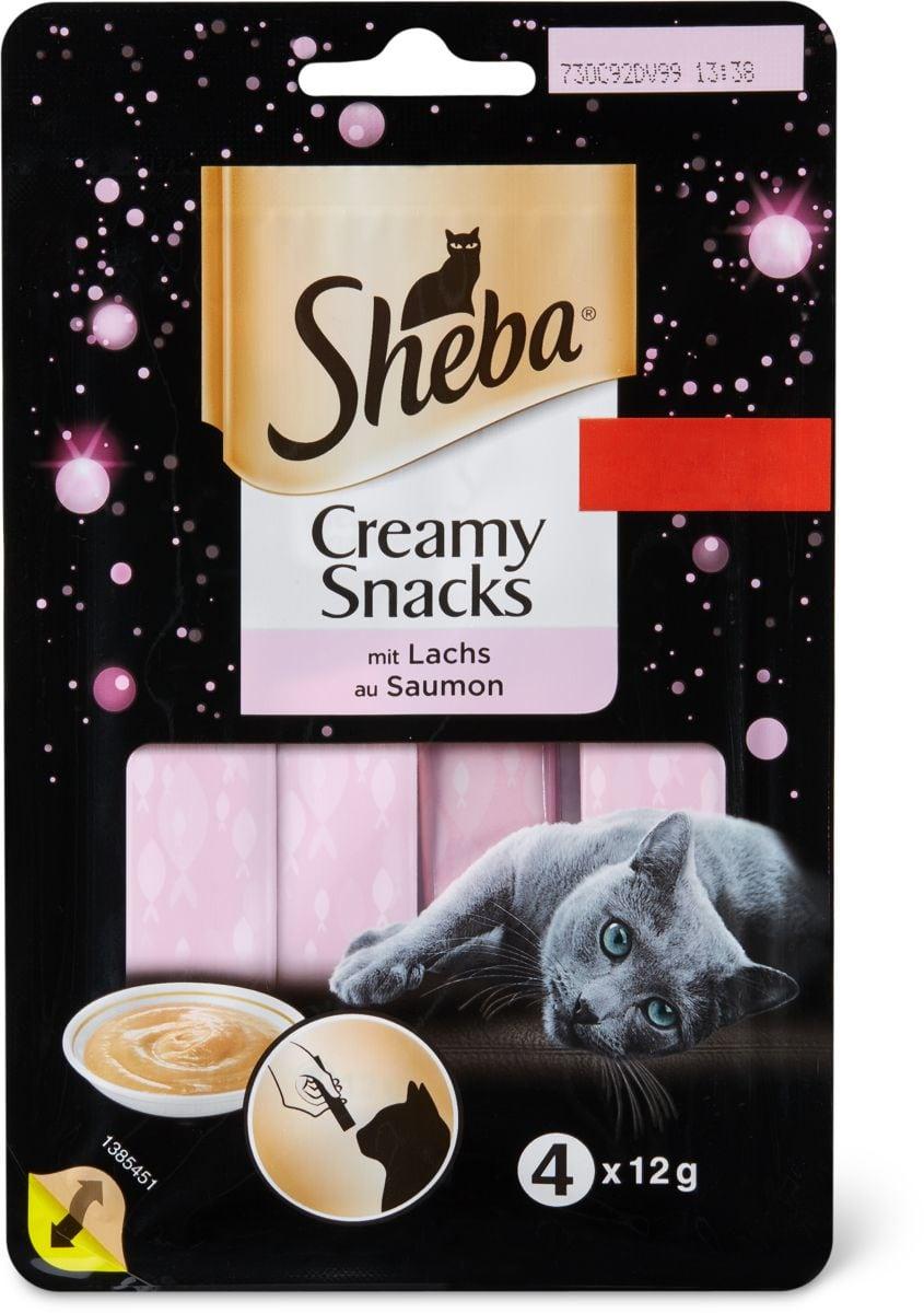 Sheba Creamy snacks Saumon