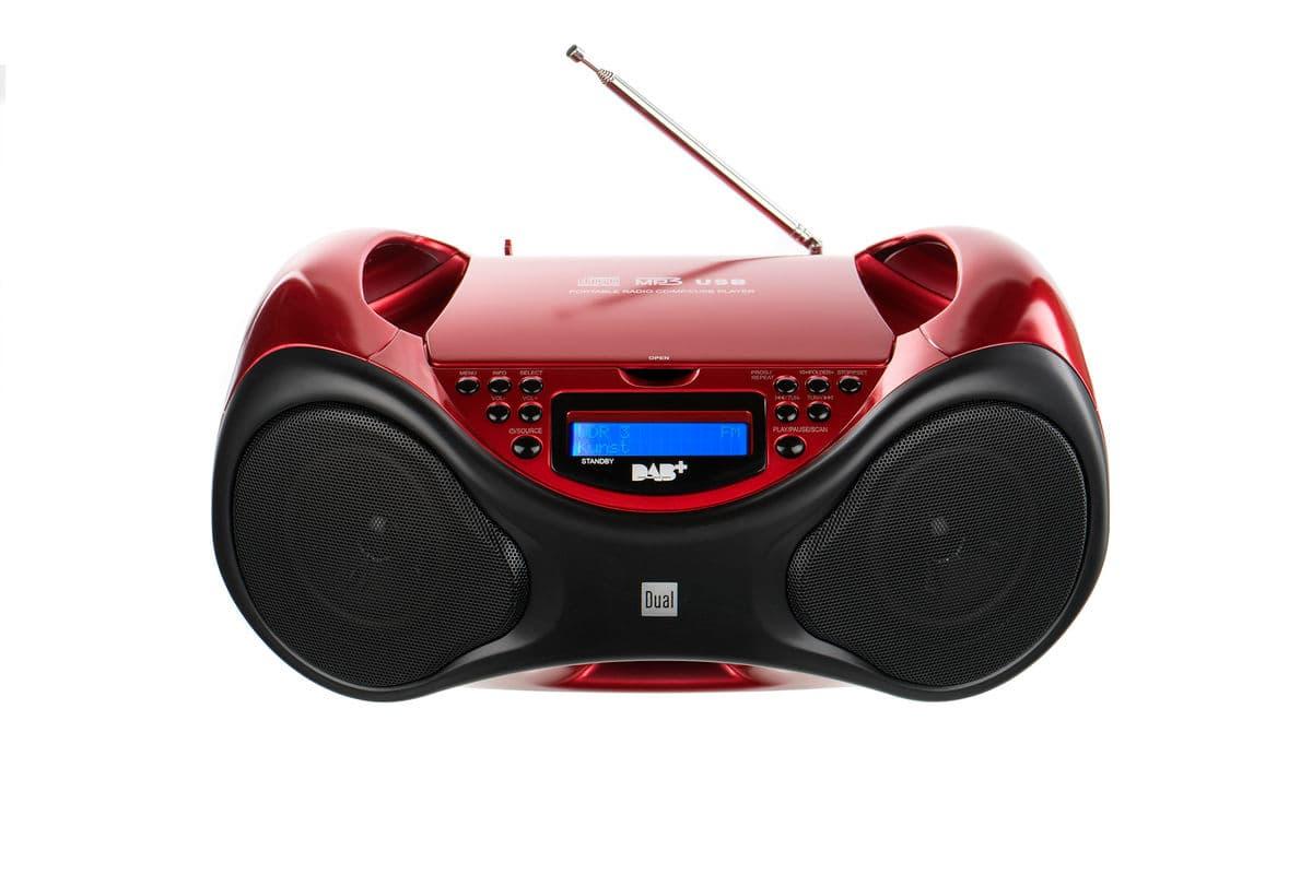 dual dab p 101 cd radio migros. Black Bedroom Furniture Sets. Home Design Ideas