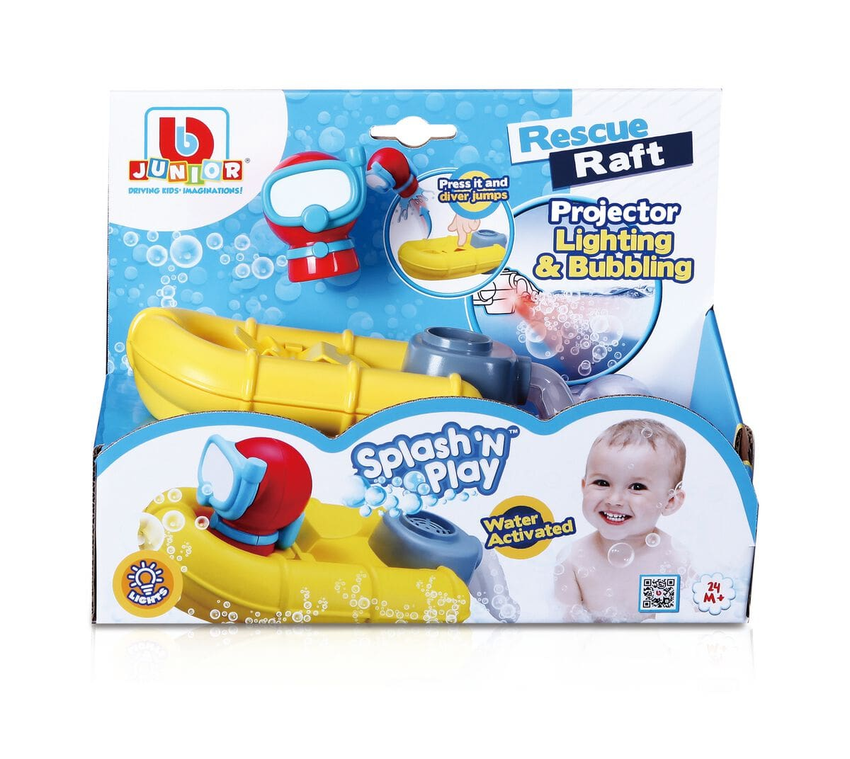 Burago Splash'n Play Rescue Craft Boat Giocattoli acquatici