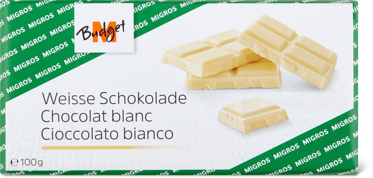 M-Budget Weisse Schokolade