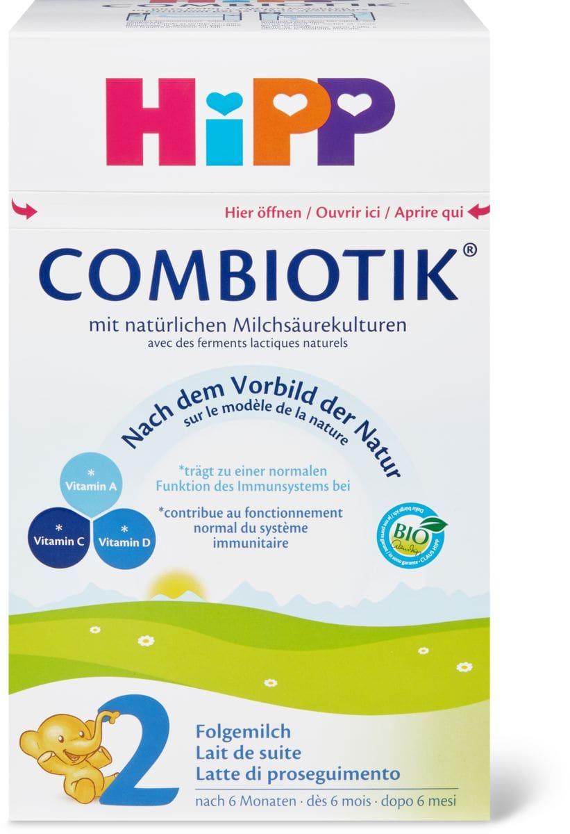 Hipp Bio 2 Combiotik Latte di proseguim.