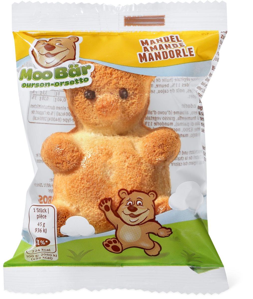 Moo ourson aux amandes