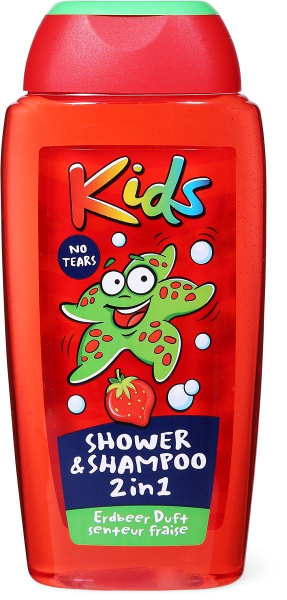 Kids Shower & Shampoo 2in1 Erdbeere