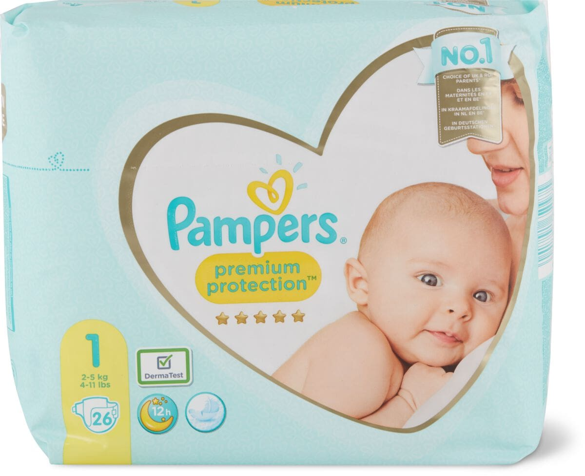 Pampers Premium Protection New Baby Gr. 1