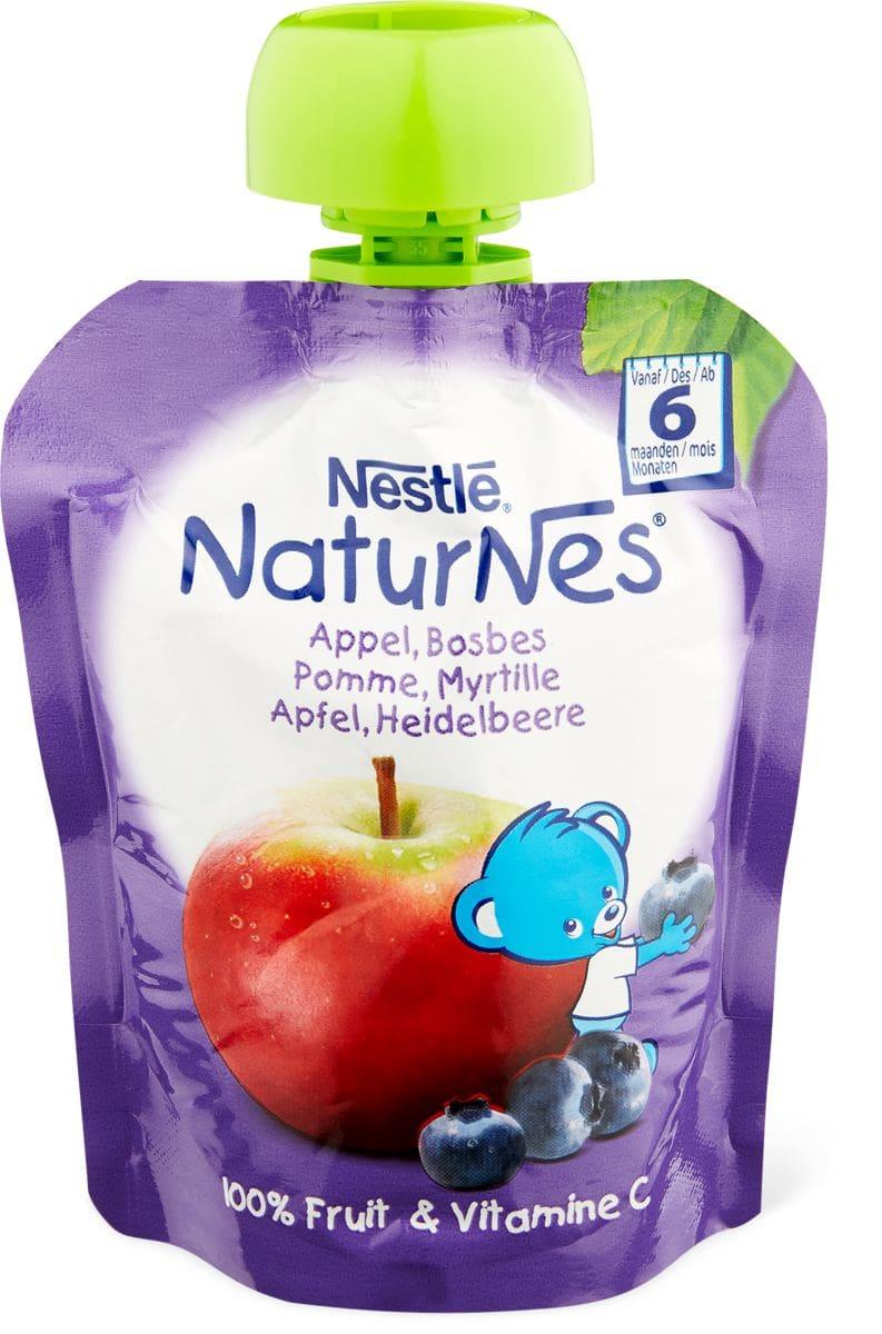 Nestlé NaturNes Merenda da spremere mela, banana e mirtilli
