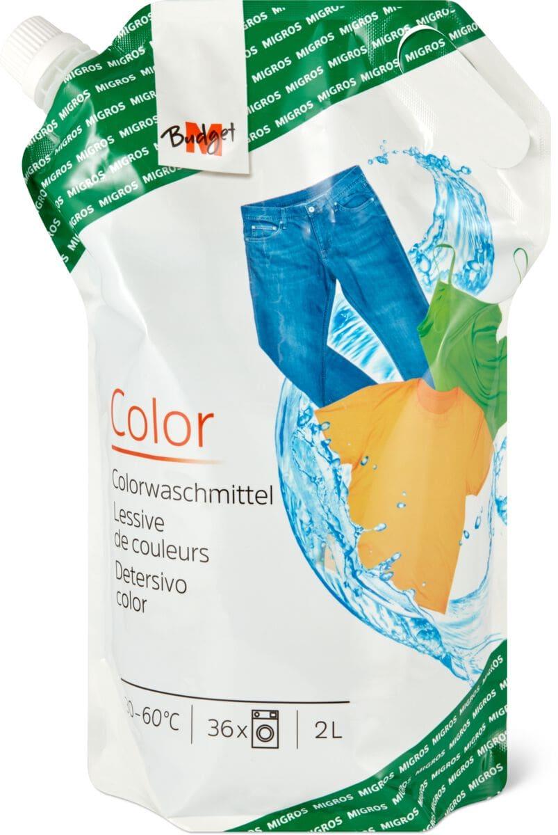 M-Budget Colorwaschmittel