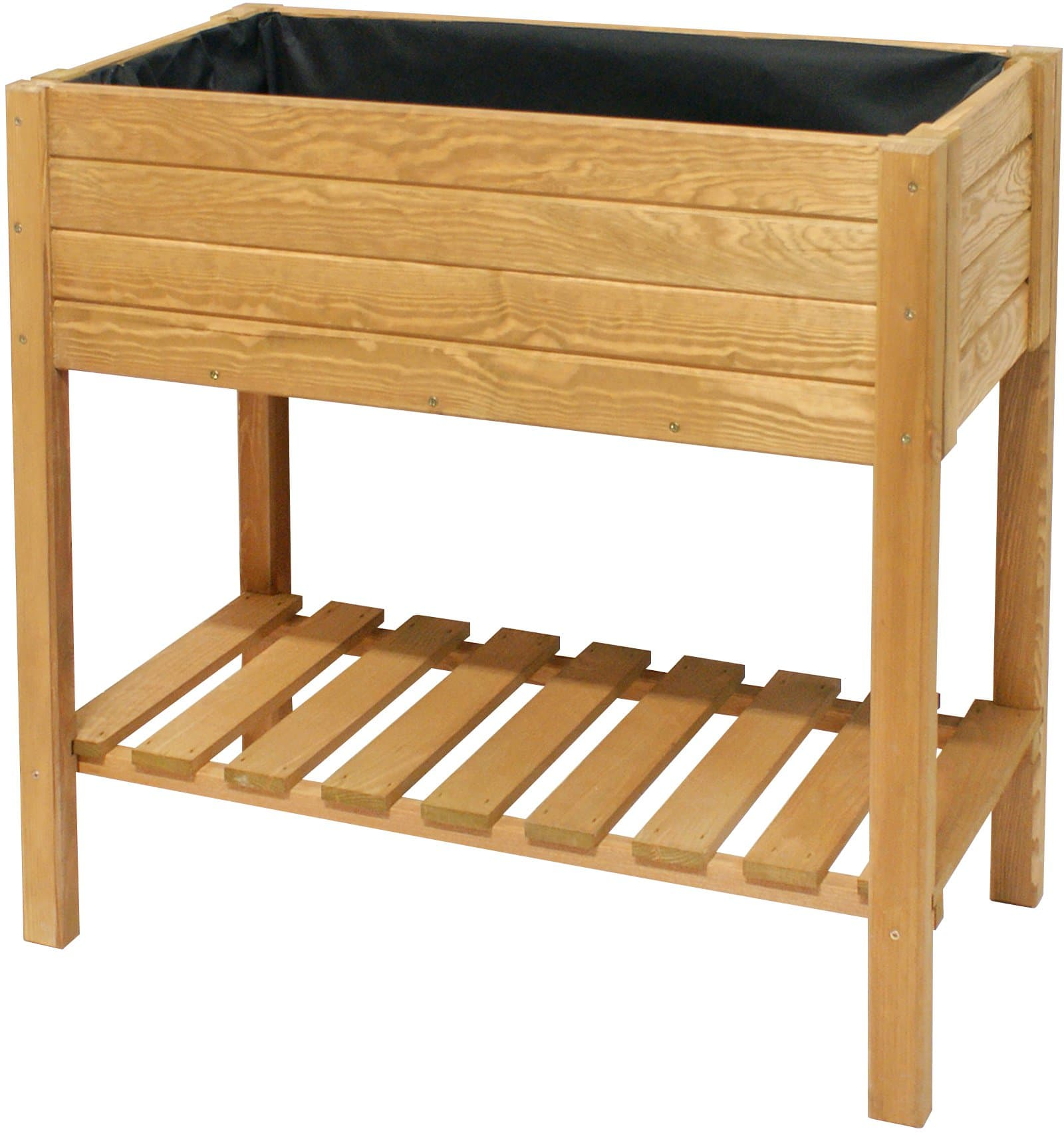 jardini re sur lev e en bois de pin migros. Black Bedroom Furniture Sets. Home Design Ideas