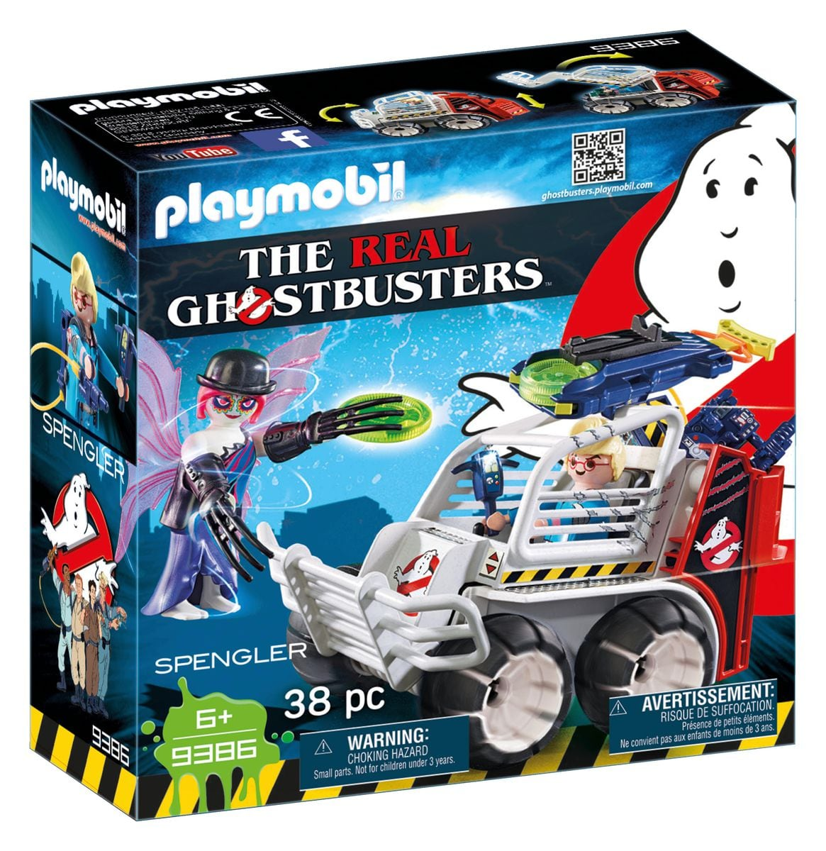 Playmobil Spengler con veicolo acchiappafantasmi