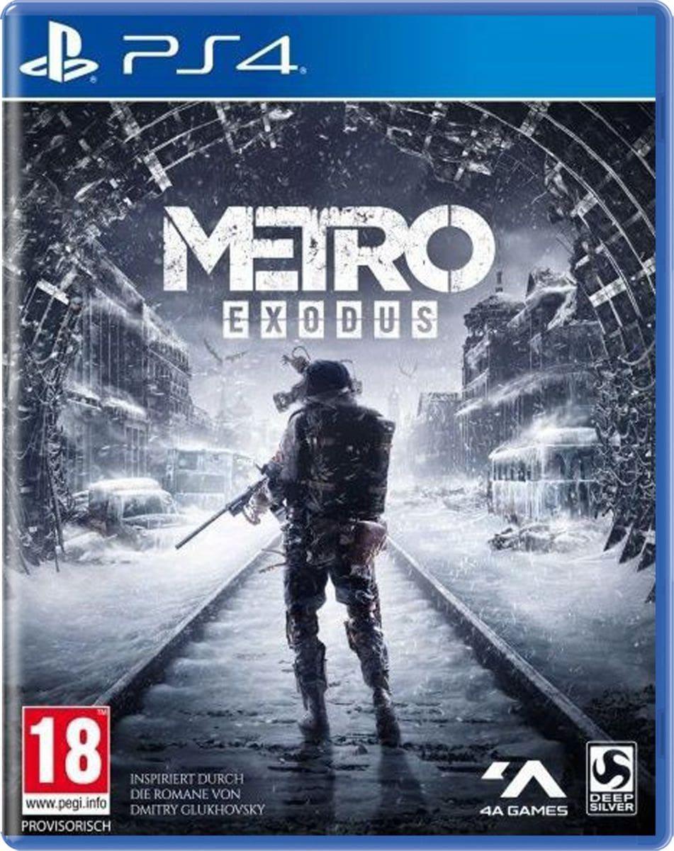 PS4 - Metro Exodus Box