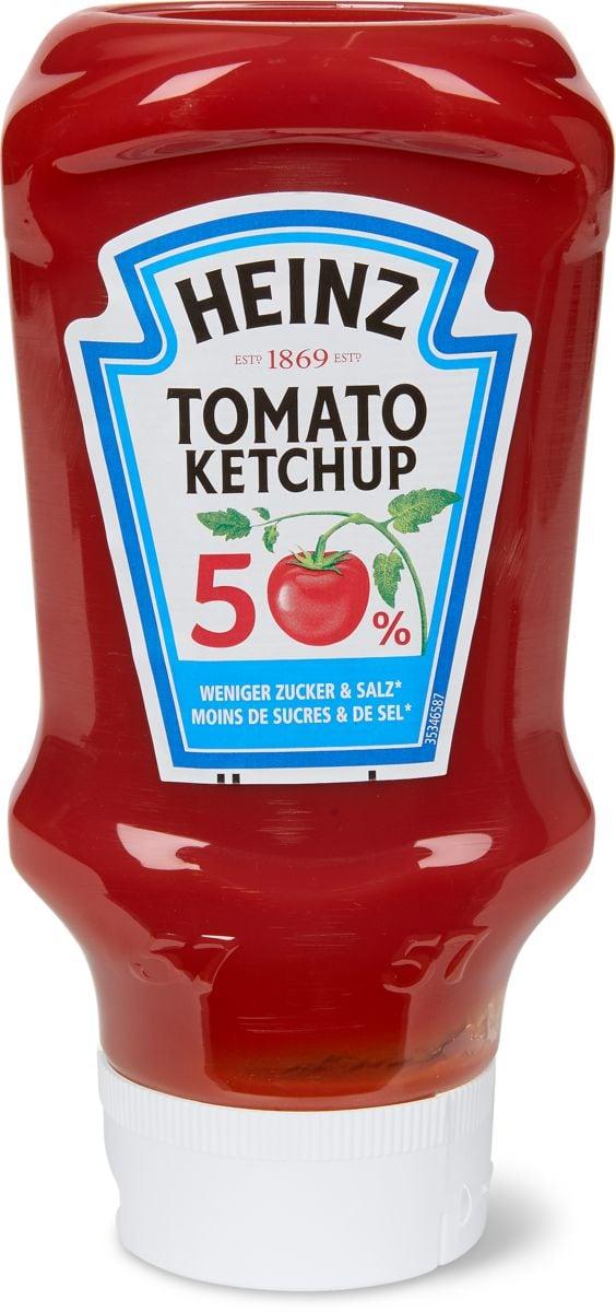 Heinz Ketchup Glasflasche