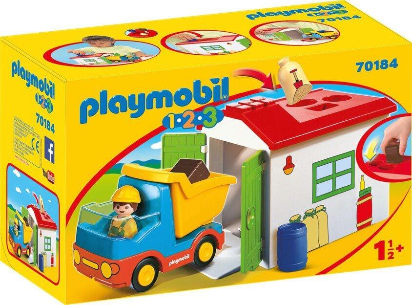 PLAYMOBIL® 70184 Ouvrier avec camion et garage