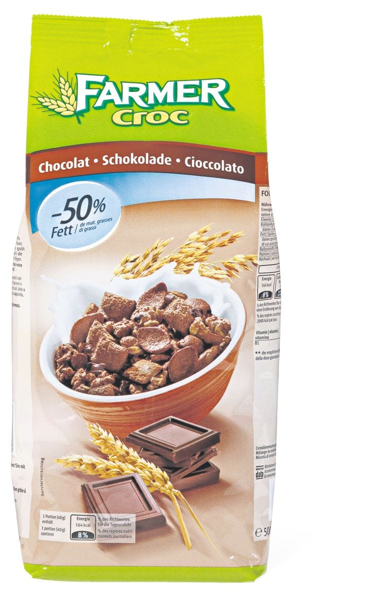 Farmer Croc Schoko Müesli low fat