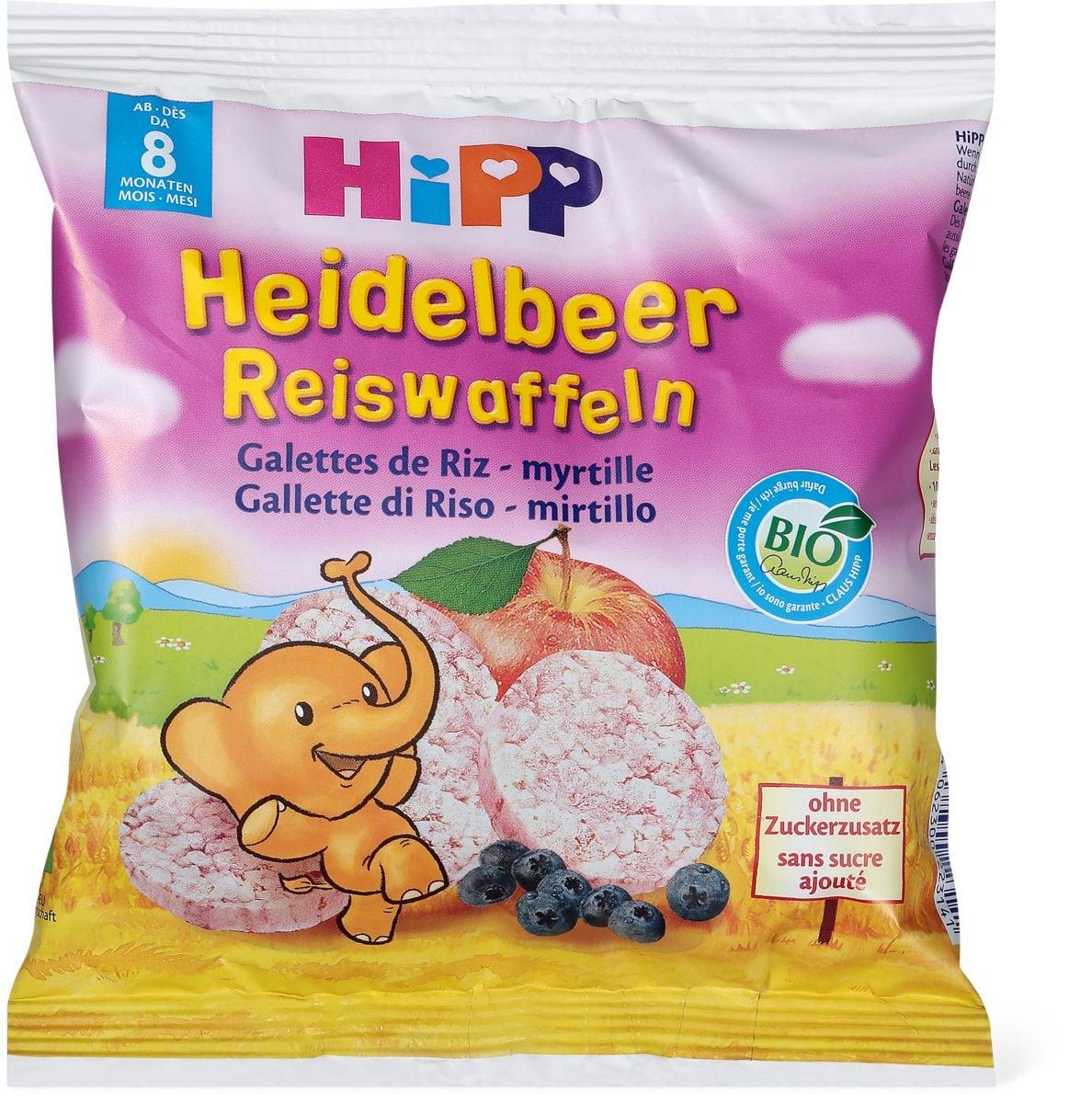 HiPP Reiswaffeln Heidelbeer