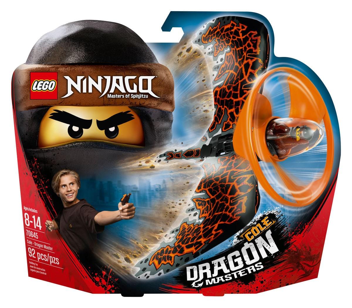 Lego Ninjago Cole - Maestro dragone 70645