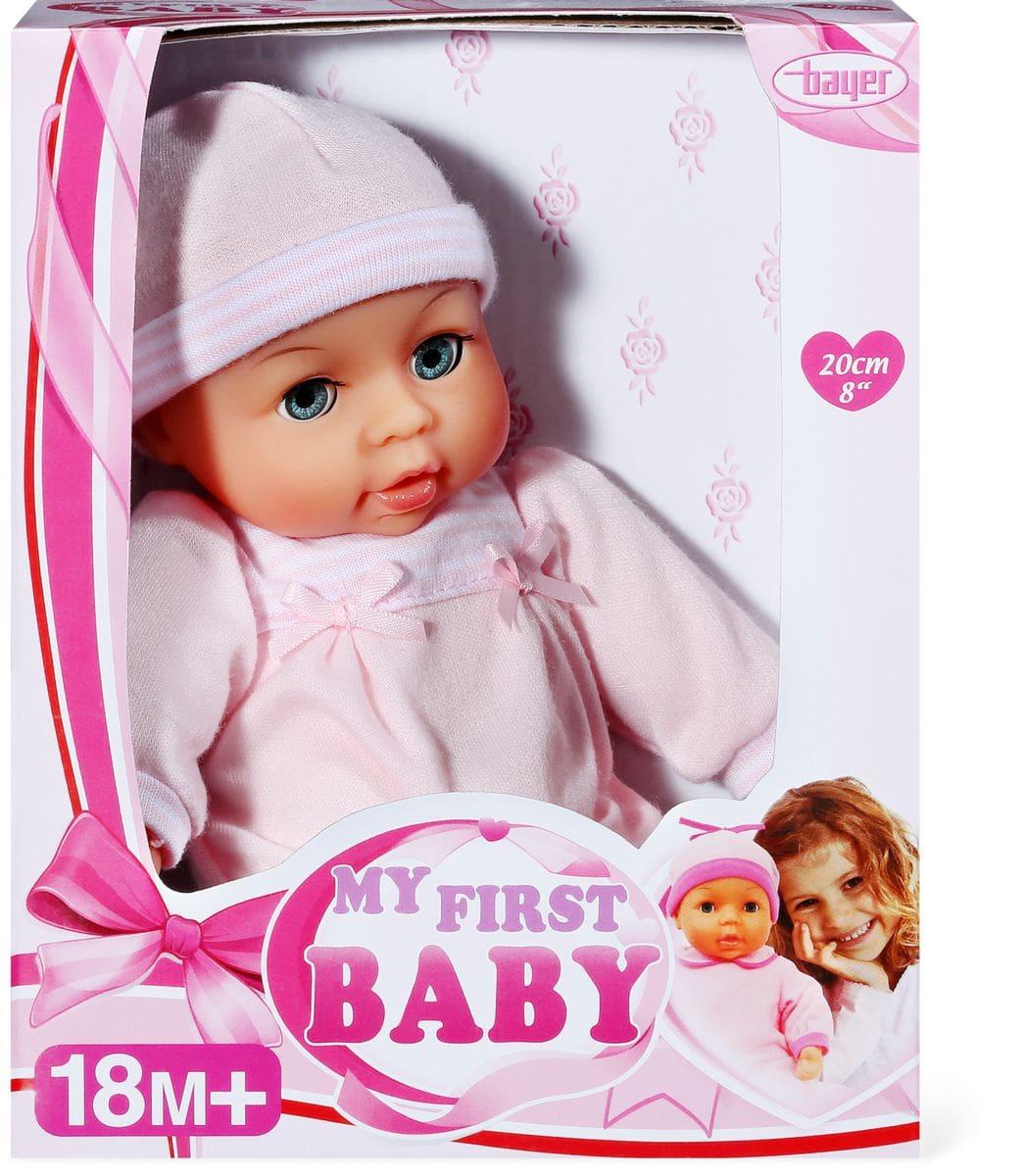 Bayer Bauer Baby 20cm Puppe