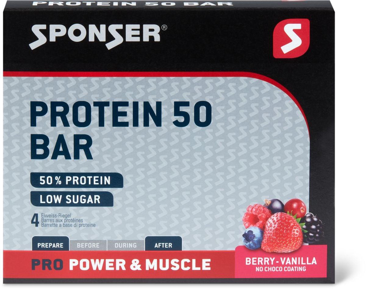 Sponser Protein 50 Bar Berry-Vanilla