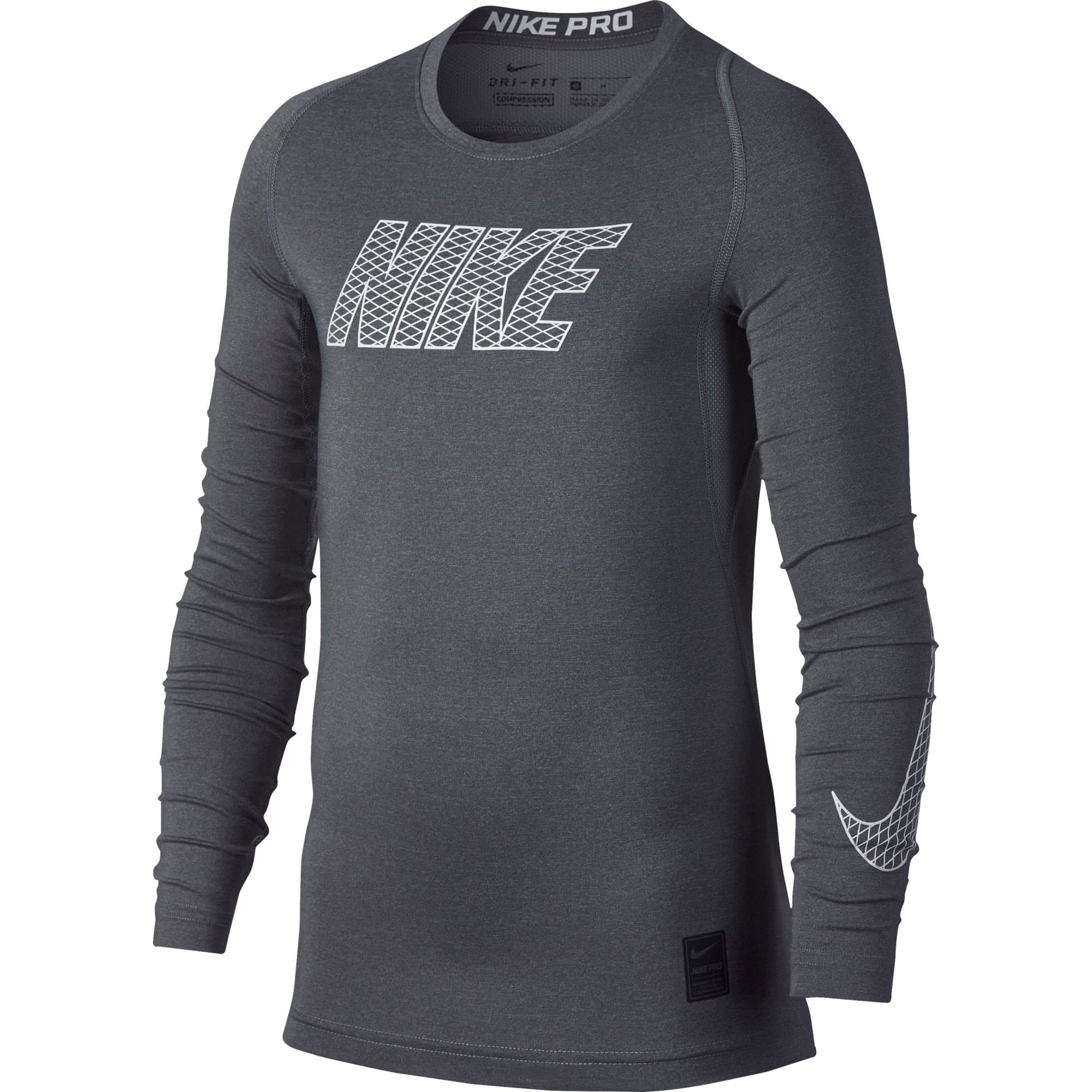 Nike Pro Top Maillot à manches longues pour garçon
