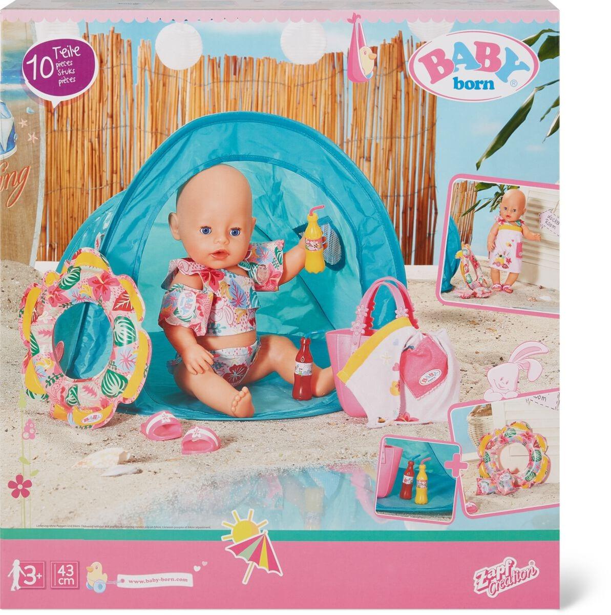 Zapf Creation Baby Born Holiday Accessoires Puppenzubehör