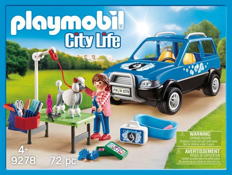 Playmobil 9278 Unità mobile di cura dei cani