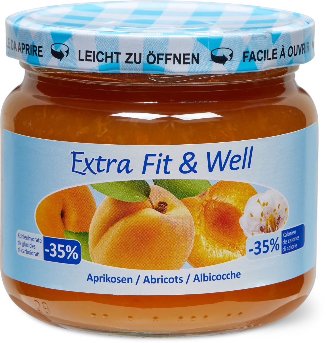 Extra Fit & Well Aprikosen